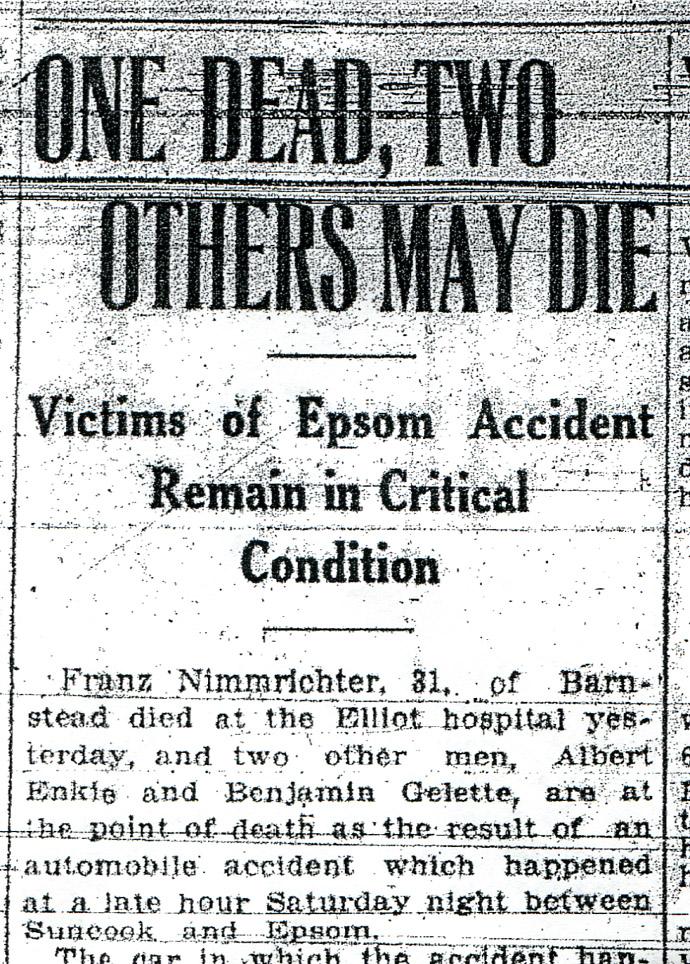 Car Accident Car Accident Newspaper Articles 2011
